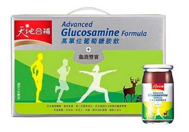 天地合補高單位葡萄糖胺飲60ml*18瓶