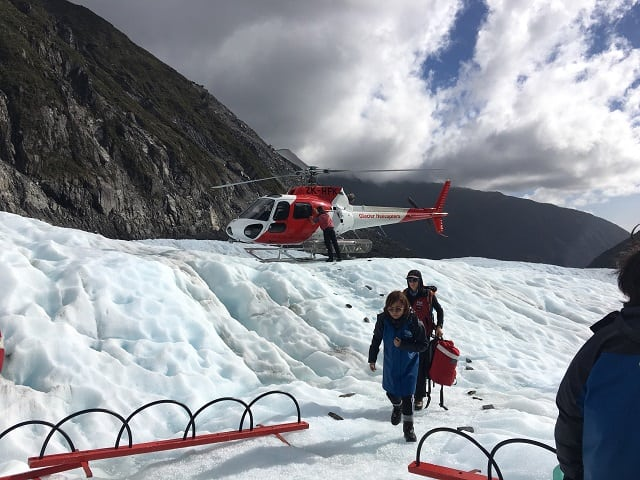 Fox glacier福克斯冰河健行
