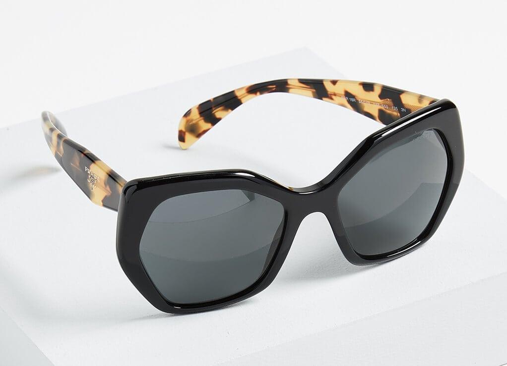 Prada Oversized Geometric Sunglasses