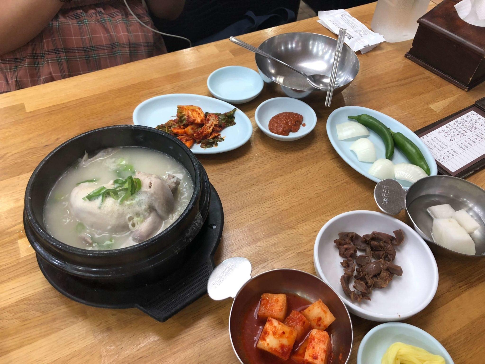 南浦蔘雞湯