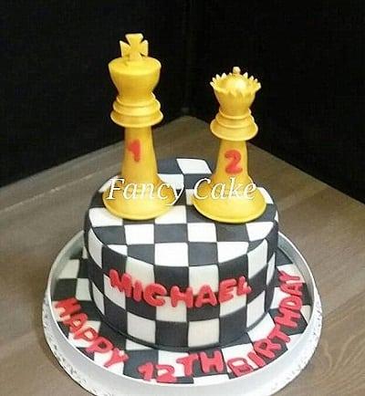 6吋西洋棋造型蛋糕 生日 活動 父親節 紀念