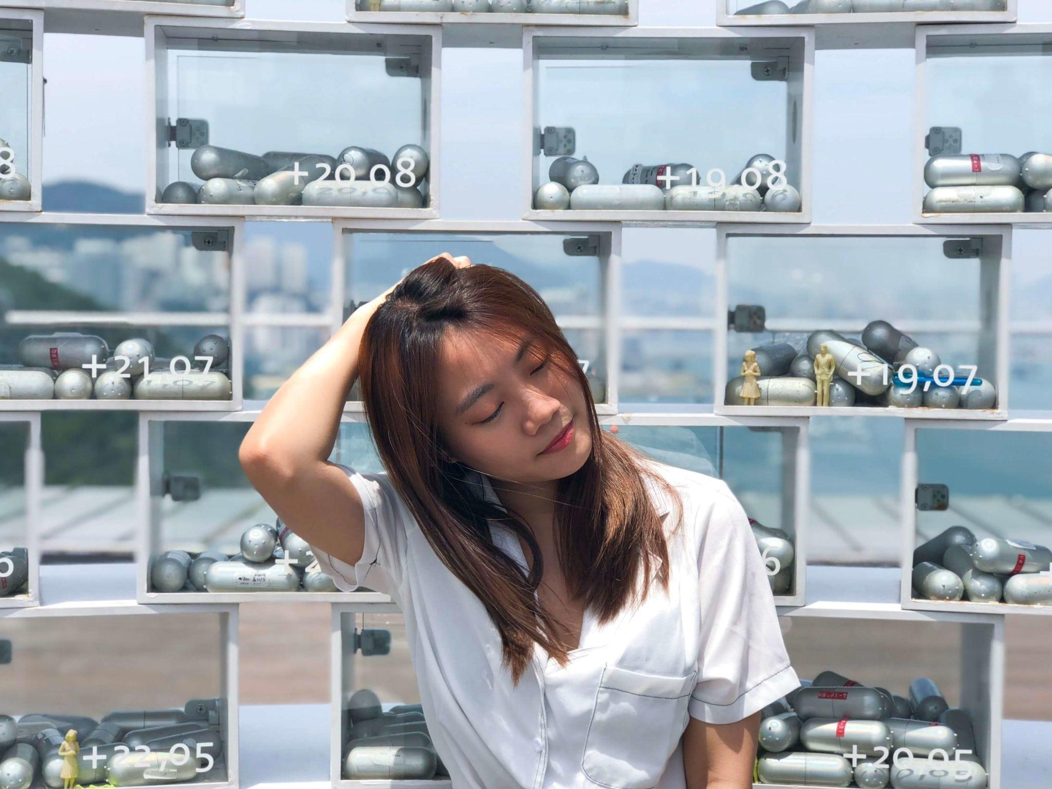 松島天空花園樓頂展望台的時空膠囊