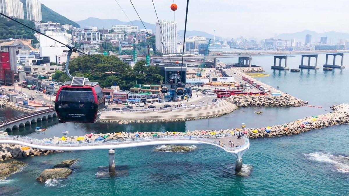 來去韓國自由行!松島天空步道、空中纜車…釜山松島一日遊景點推薦