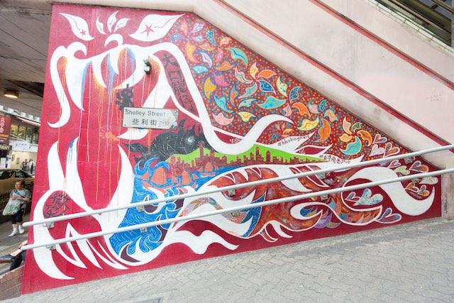 香取慎吾作畫的塗鴉牆