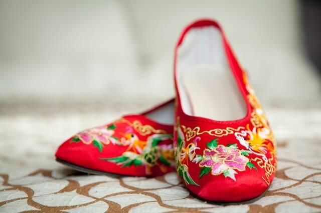台灣傳統婚禮鞋