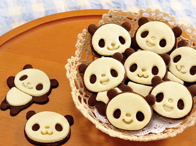貓熊造型手作餅乾DIY造型模具