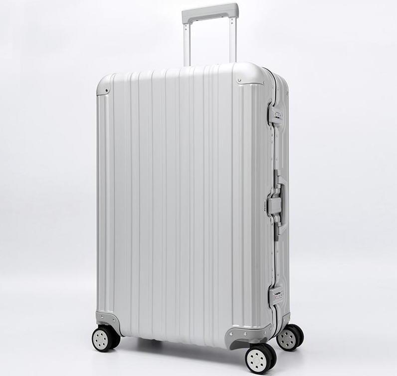 Aviator 極緻奢華鋁鎂合金行李箱 29吋 (霧面噴砂限量版)-時尚銀