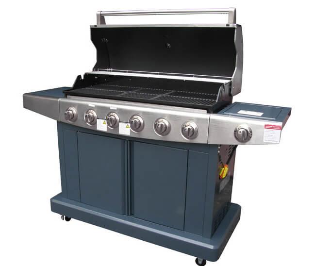 【烤爐行家】七爐頭大烤爐(戶外休閒)高級GAS瓦斯烤肉爐(限用桶裝液化瓦斯)