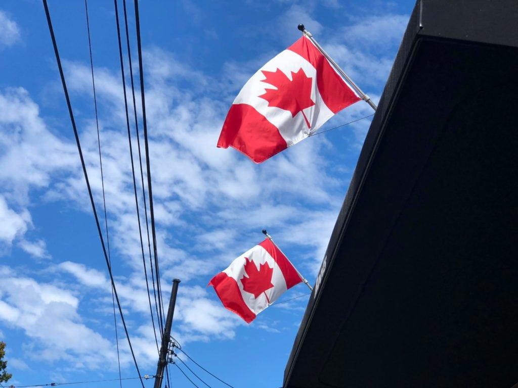 加拿大國慶日國旗