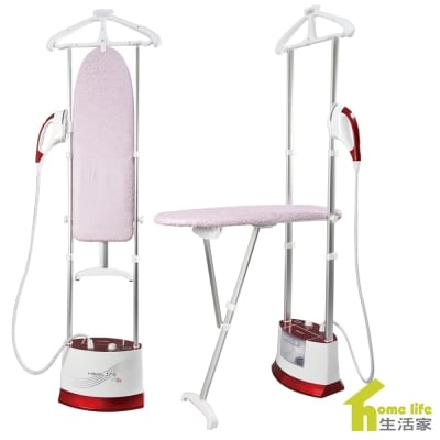Hanging ironing machine