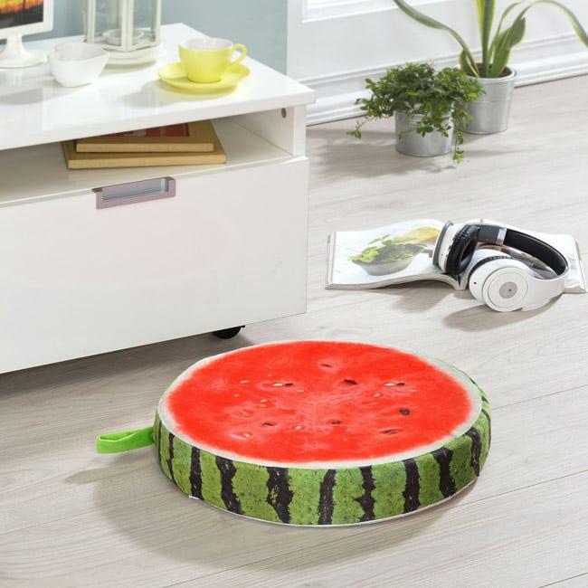 水果造型絨毛坐墊