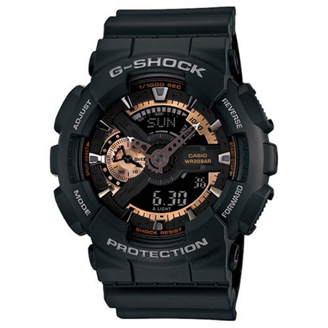G-SHOCK 染金炫彩新重機裝置Man概念錶