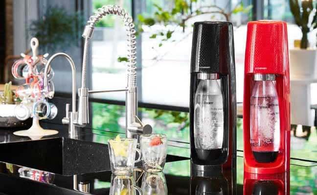 Sodastream時尚風自動扣瓶氣泡水機Spirit