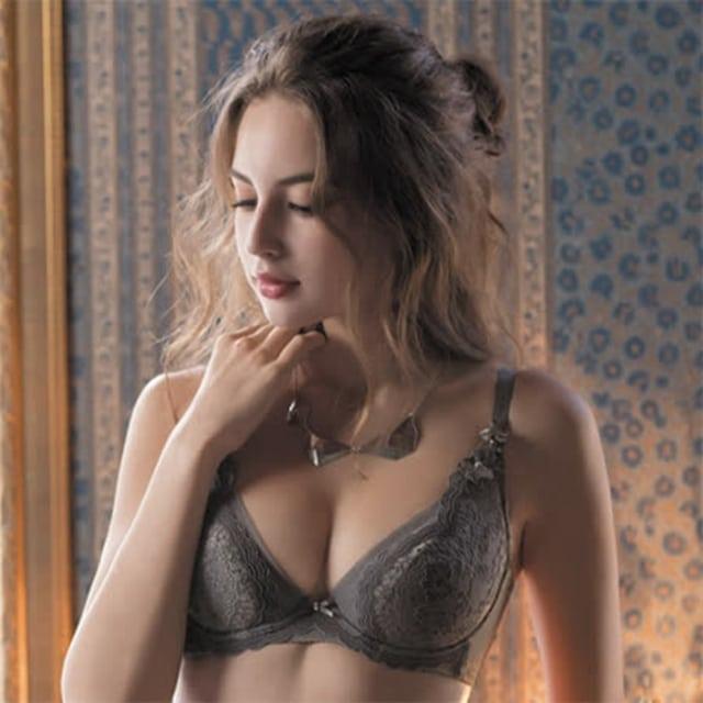 【華歌爾】伊珊露絲夢幻花園 C -E 罩杯內衣(優雅褐)性感豐胸-飛思美背