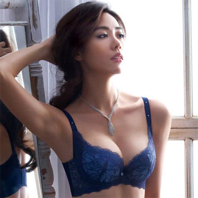 【摩奇X】大V美背系列B-C罩杯內衣(瓷器藍)