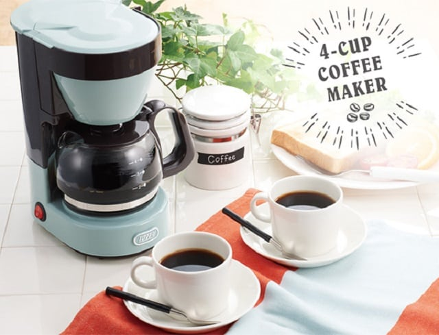 Toffy 復古四杯美式咖啡機