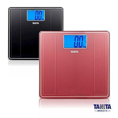 日本 TANITA 藍光LED大螢幕電子 體重計 HD-382