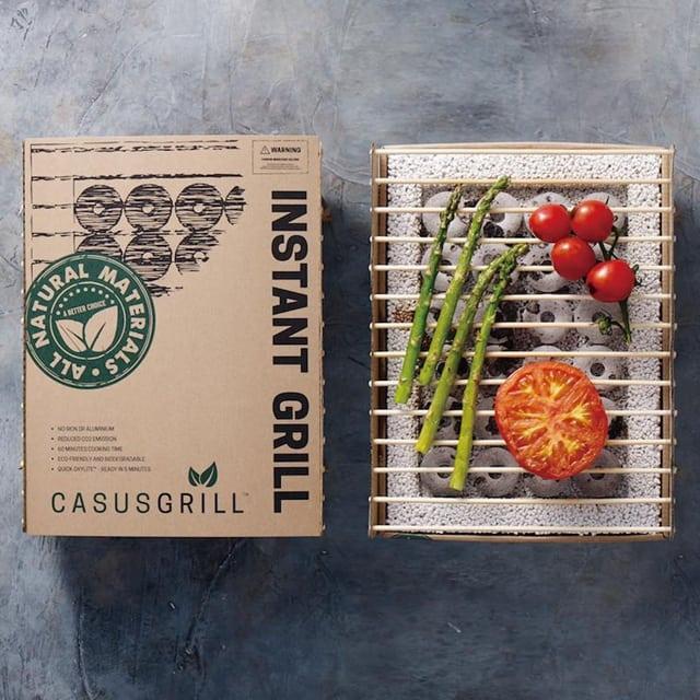 CASUSGRILL丹麥工藝環保烤肉架