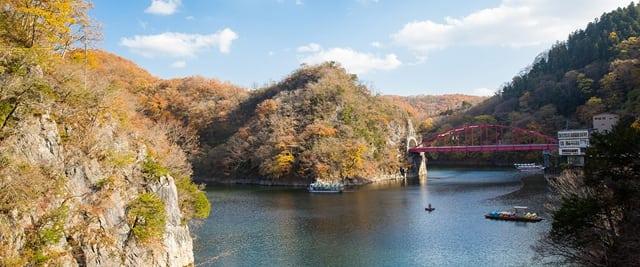 廣島帝釋峽