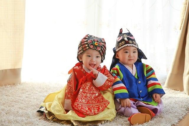 寶寶傳統服飾