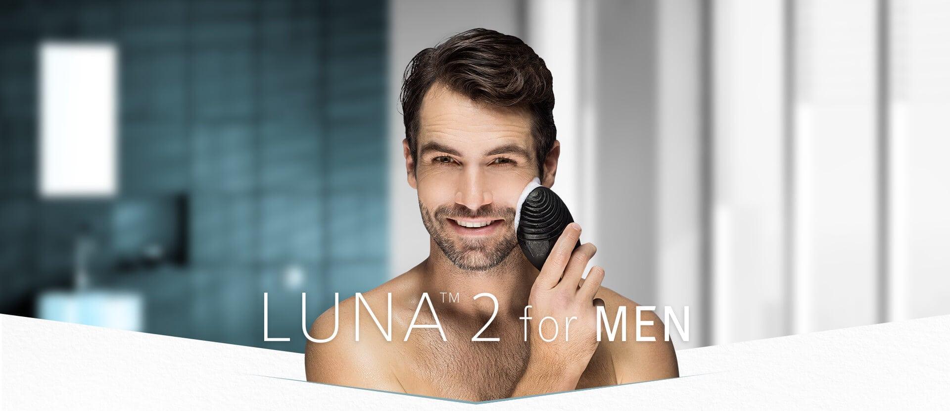 露娜LUNA 2 男士淨透舒緩潔面儀