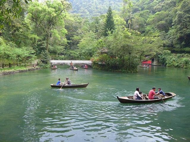 雲仙樂園划船活動