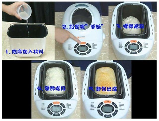 KAISER威寶 品味多功能製麵包機