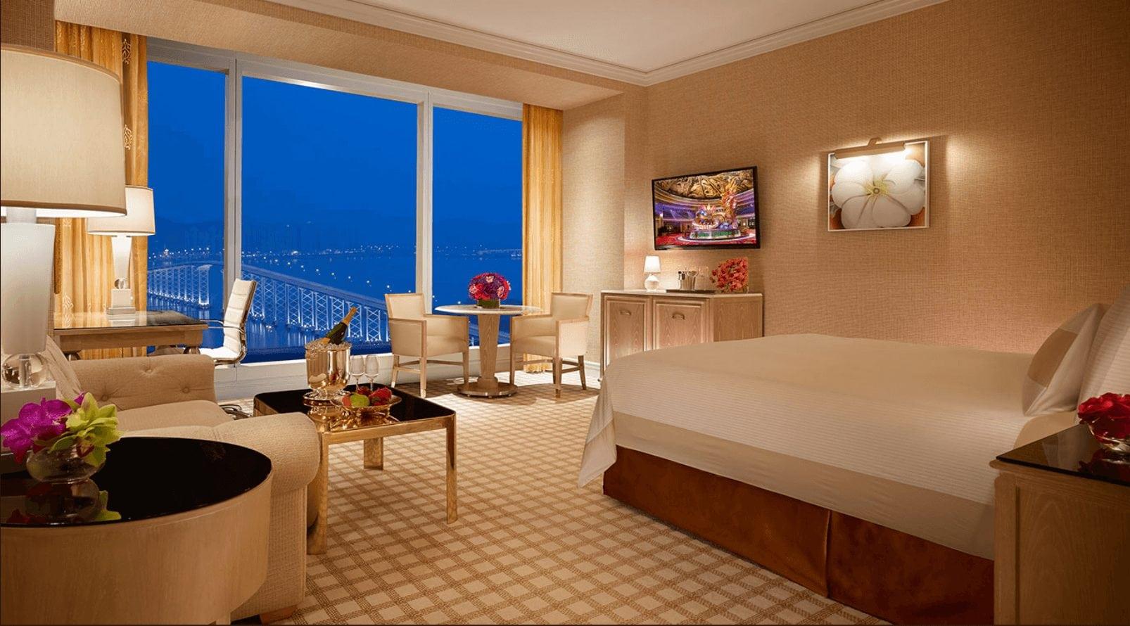 永利飯店房間