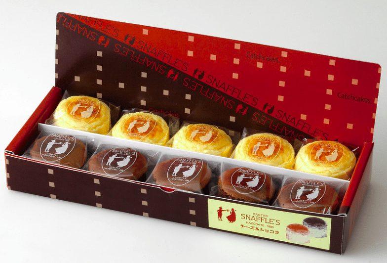 Pastry Snaffle's 起司輕乳酪蛋糕&巧克力輕乳酪蛋糕