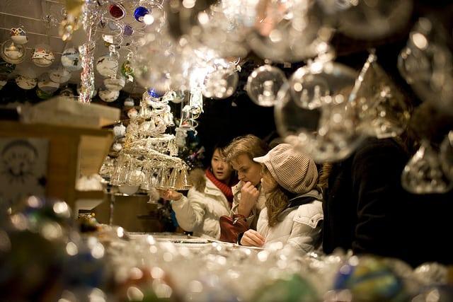 瑞士蘇黎世中央車站聖誕市集