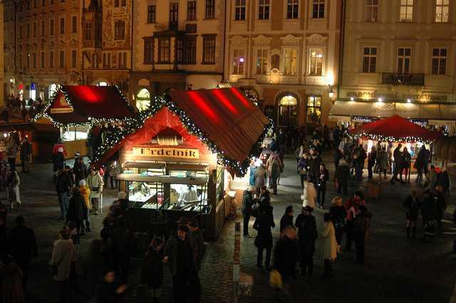 捷克布拉格聖誕市集