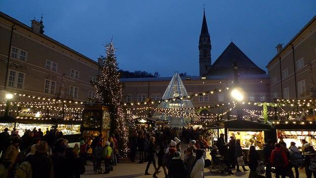 奧地利薩爾斯堡聖誕市集