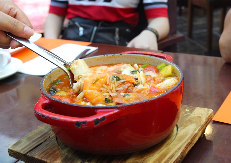 葡式海鮮燉飯