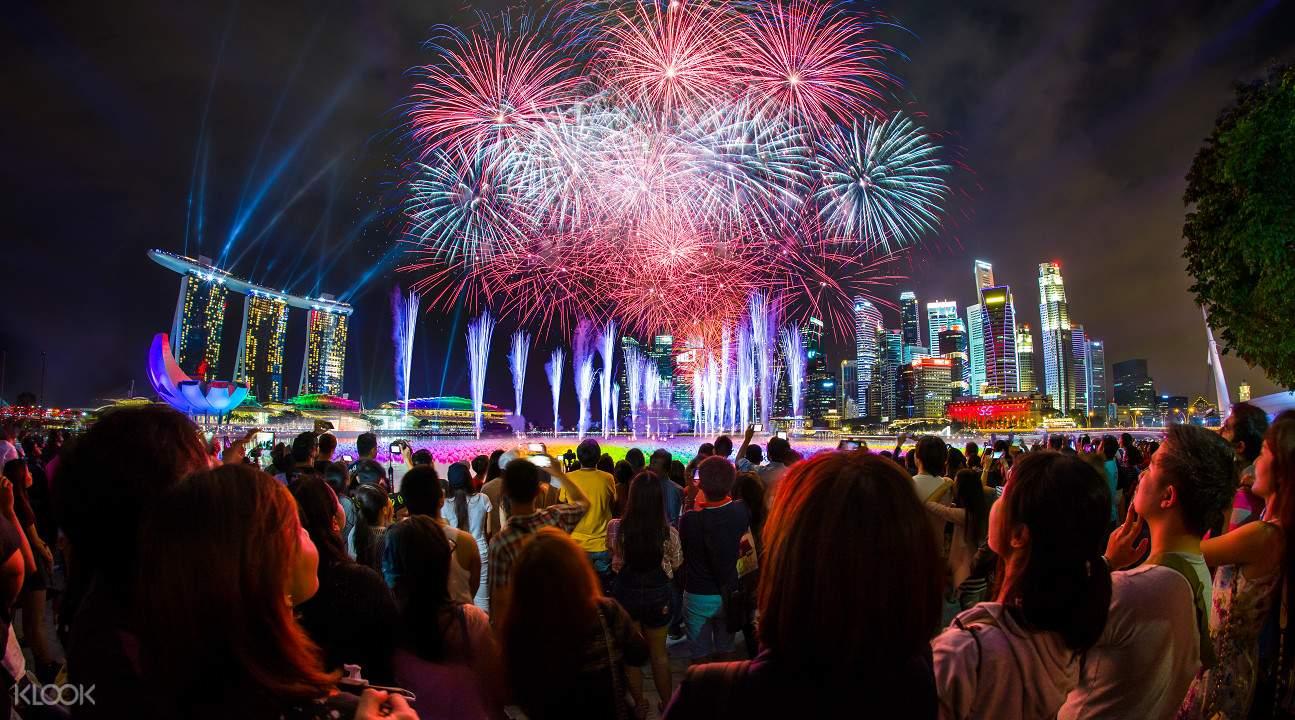 新加坡 濱海灣華麗煙火秀