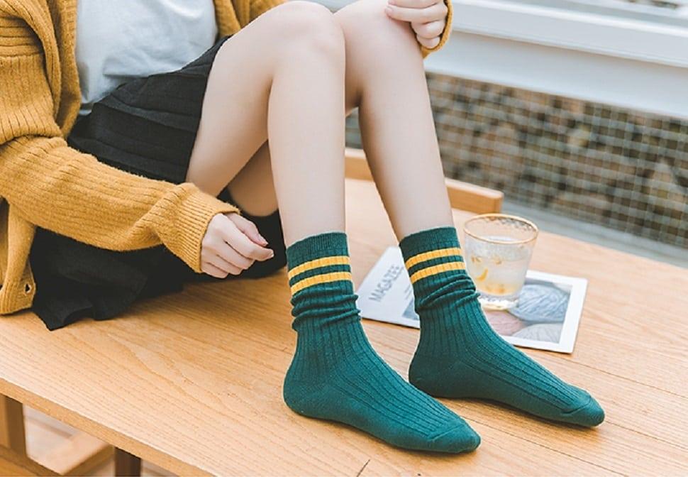 韓妞們都馬這樣穿!秋冬韓國長襪穿搭5祕技,這樣搭配韓味滿滿