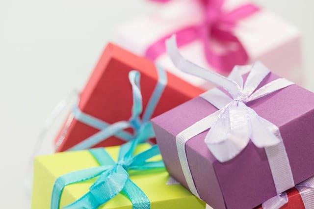 彩色聖誕禮物