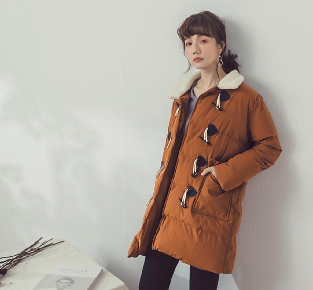 羽絨棉大衣外套