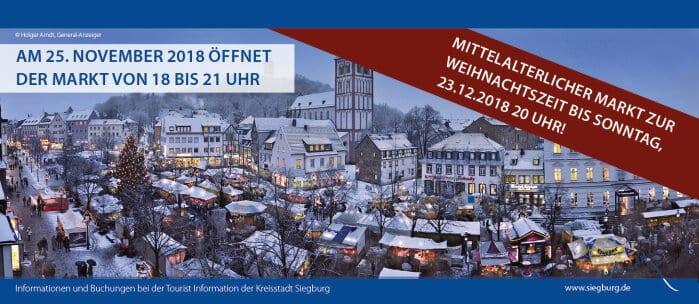 席格堡中世紀聖誕市集