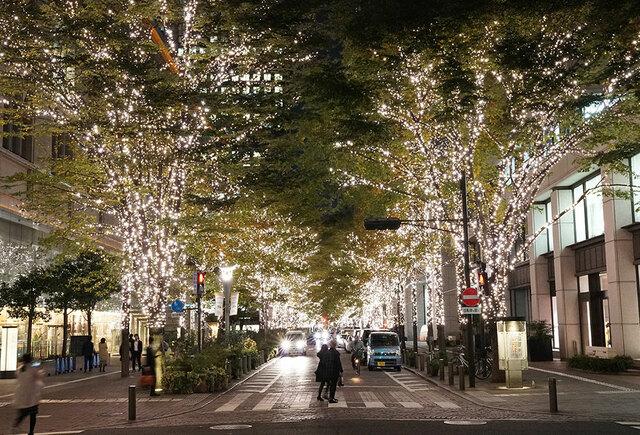 丸之內 聖誕 點燈