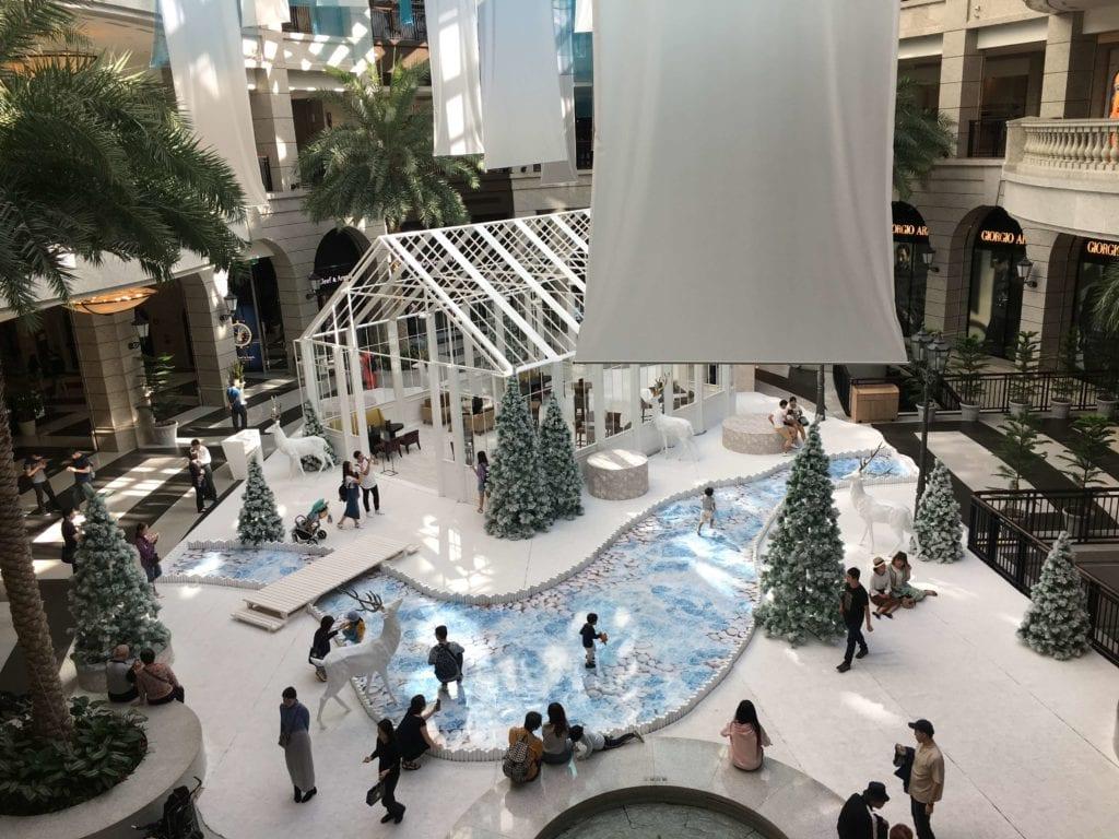 bella vita聖誕造景
