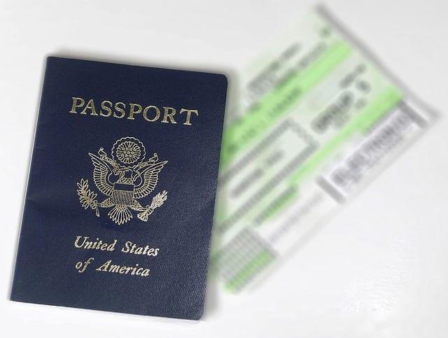 護照與機票