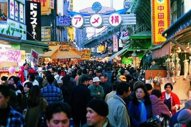 東京阿美橫丁跨年