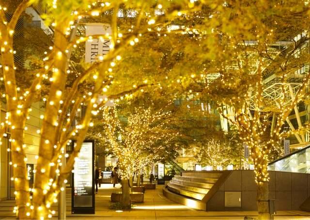 東京 中城 聖誕點燈