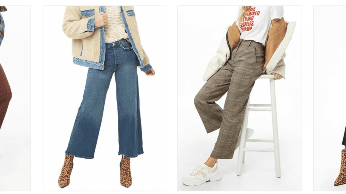 隨興有型超顯瘦!冬天寬褲穿搭祕技,胖女孩也能輕鬆穿出時尚感
