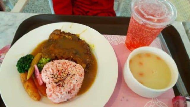 櫻花限定餐