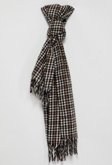 ASOS格紋圍巾
