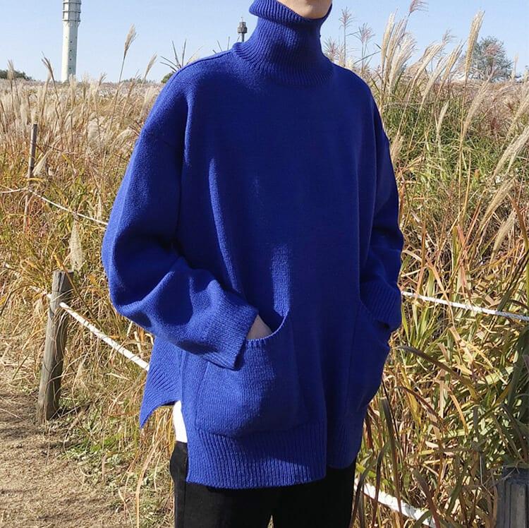 韓系寬鬆毛衣