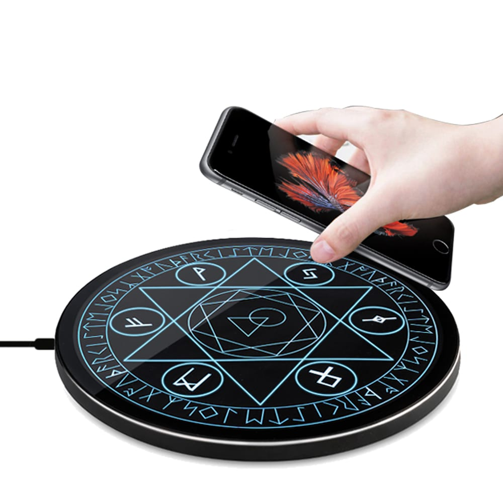 Mine Phone 藍光魔法Qi無線充電板