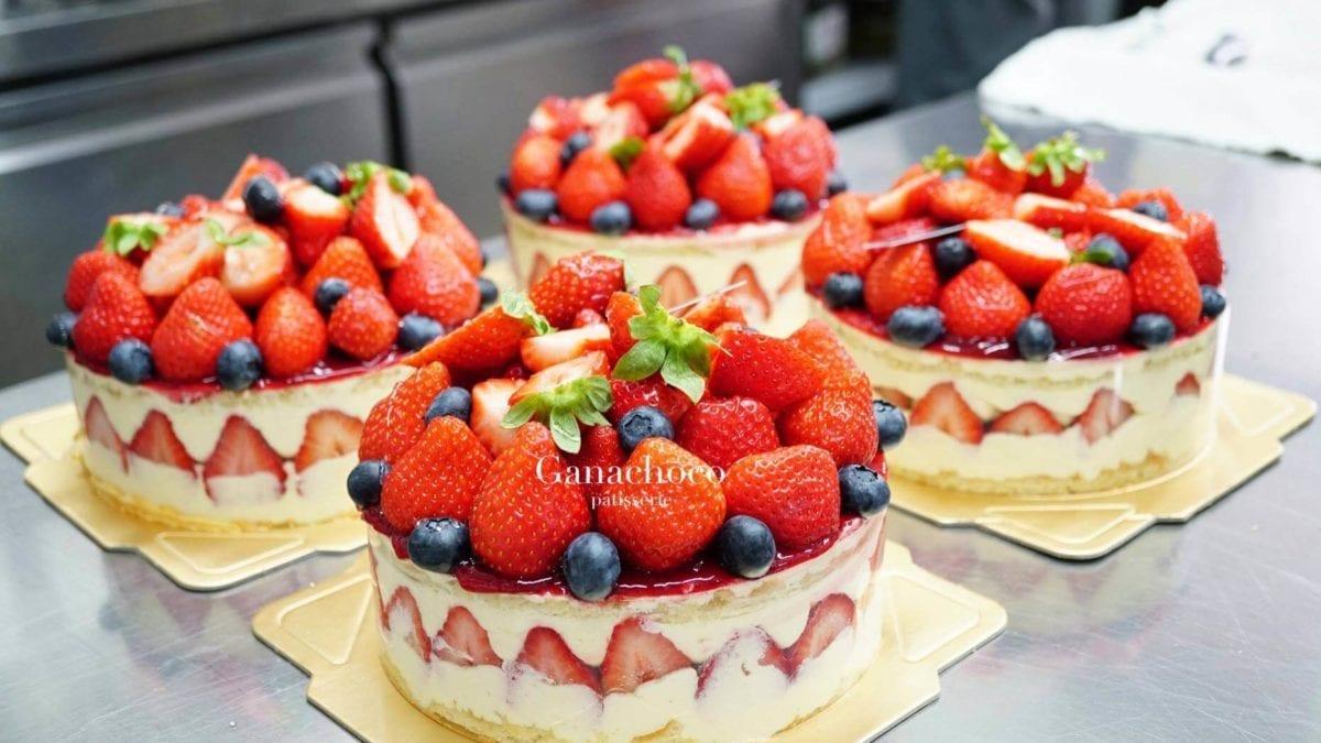 草莓控來吧!台南草莓甜點推薦top10,草莓派、草莓千層蛋糕任你選