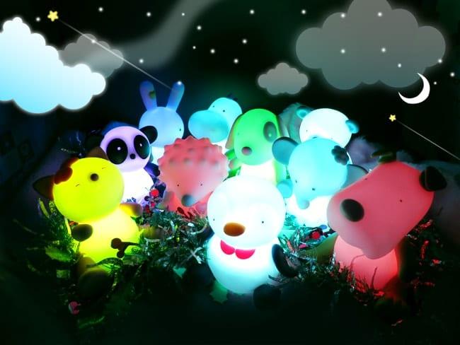 療癒系柔光兒童安撫夜燈